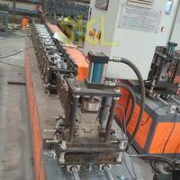 W stud track profile keel roll forming machine